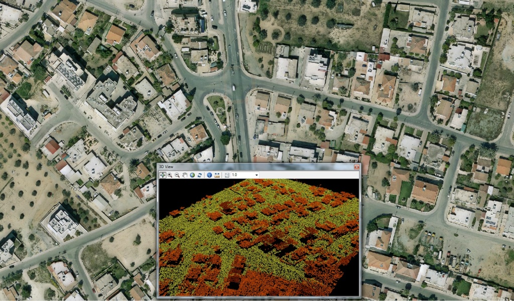 The Airplanes Results Horizontal And LIDAR Photographs